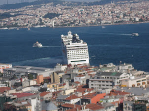 """View of Istanbul from """"Galati Tower"""""""