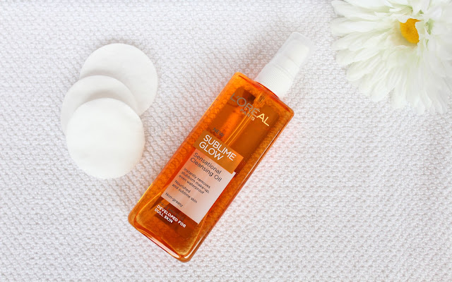 L'Oreal, L'Oreal Sublime Glow Cleansing Oil, Sublime Glow, Cleansing Oil, cleanser review, sublime glow cleanser review