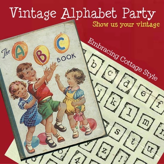 http://etsycottagestyle.blogspot.com/2015/02/the-vintage-alphabet-party-february.html