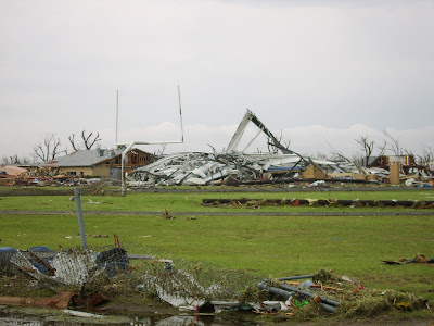 Greensburg, KS tornado damaged school