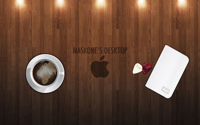 Elegant Apple coffee shop Wallpapers