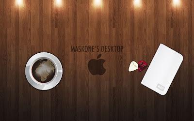 Elegant Apple coffee shop Wallpapers