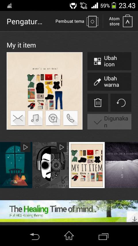FREE Aplikasi Launcher Cantik, Ganteng, Keren Buat Android