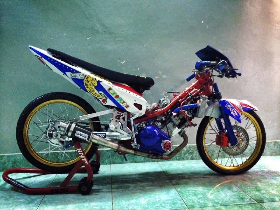 contoh foto motor drag