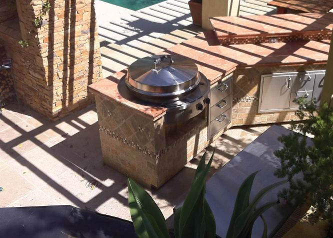 Mode Concrete Evo Round Cooking Surface Perfect For The