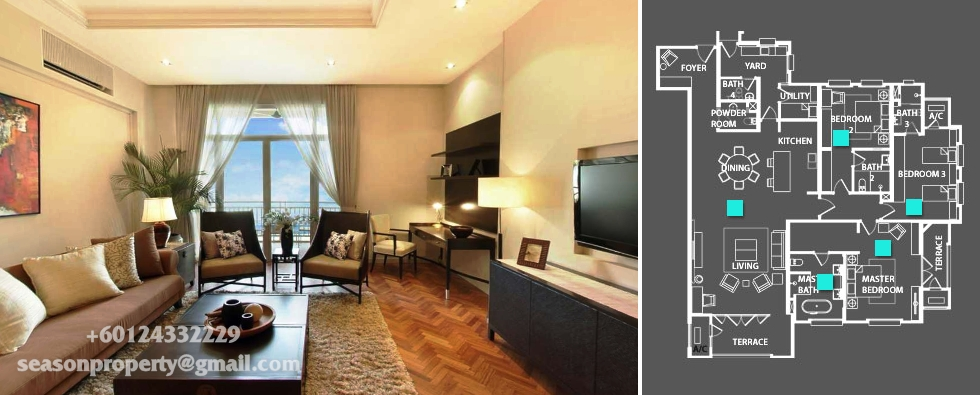 Quayside Condominium Type 2481sf Ss S Property Penang