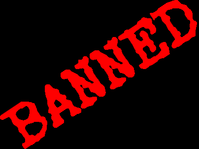 Image result for banned text