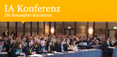 Our other conference: German IA Summit