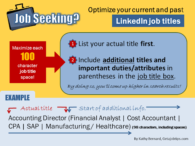 LinkedIn job titles