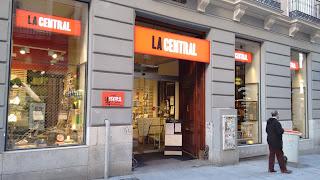 Libreria la central de Callao Madrid