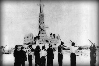 Fusilamiento del monumento al Sagrado Corazón de Jesús de Getafe