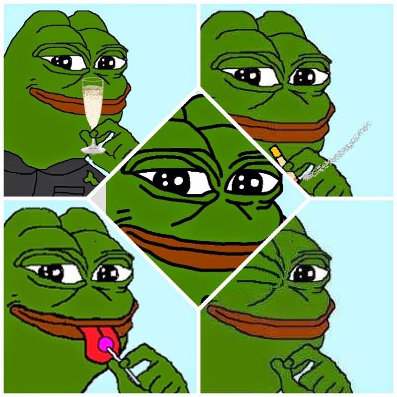 The Many Faces Of Pepe Frog Via Internets