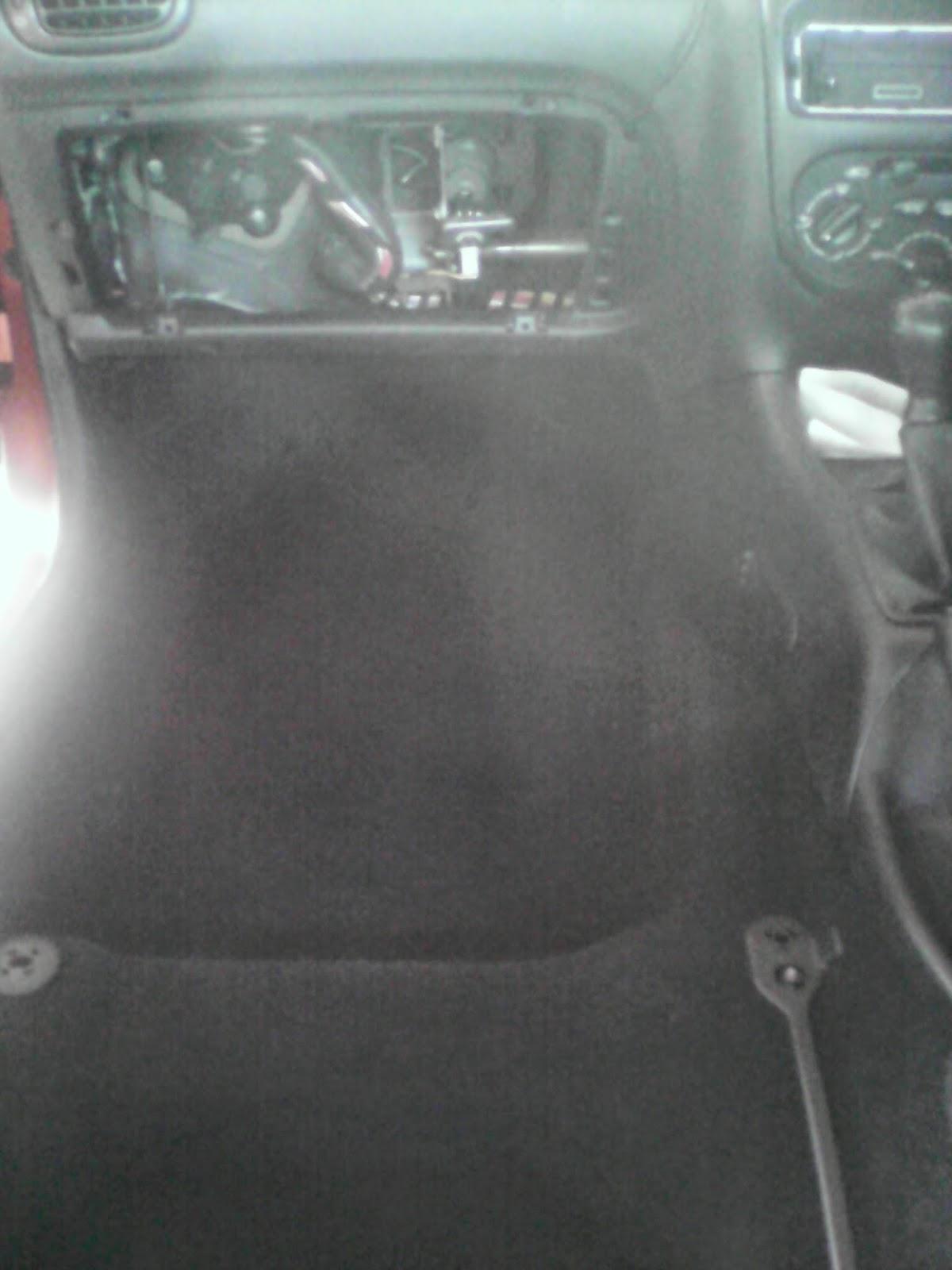 Audio Upgrade Project Part 3 Under Seat Subwoofer Sculpting A Peugeot 206 Bonnet Fuse Box Glovebox Removal