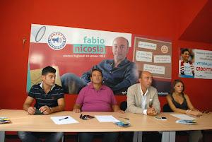 Presentazione campagna elettorale Fabio Nicosia