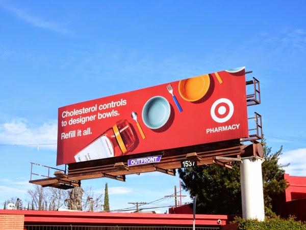 Target Pharmacy refill billboard