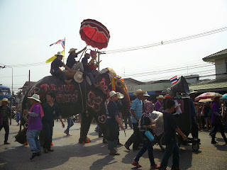 Si Satchanalai Elephant-Back Ordination Procession