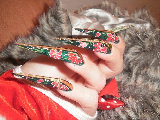 Nail Art Stiletto Nail Art Designs