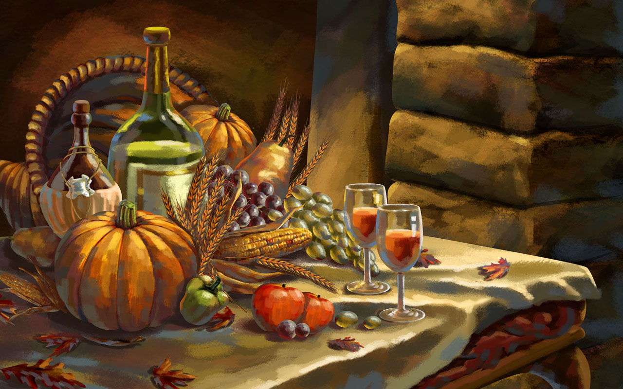 Download 2012 thanksgiving day widescreen wallpaper 1280 800 pixels
