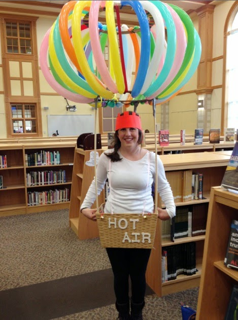 diy hot air balloon halloween costume and halloween fun in the; the library experience explorediscovercreate  sc 1 st  Arabian Horse Ranch & Minion Balloon Costume u2014 Arabian Horse Ranch