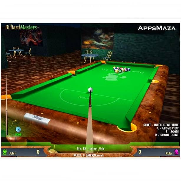 This 3D Pool Games makes you a master of 8 ball and 9 ball Pool Games no questions asked, Free download this World`s no.1 3D Pool Games from here.