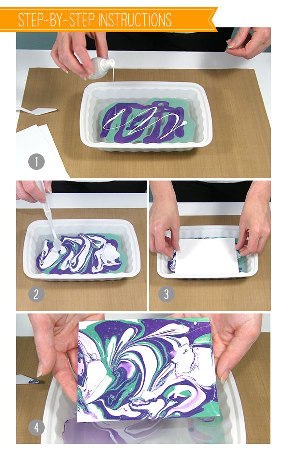 stamp away with me nail polish marbling
