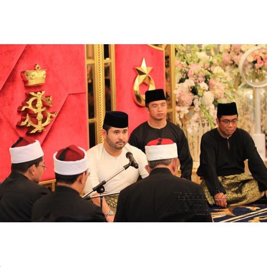 Gambar Sekitar Majlis Pernikahan TMJ dan Cik Khaleeda