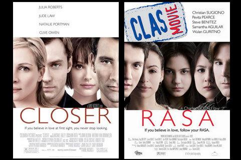 Poster Filem Indonesia yang meniru poster filem lain ...