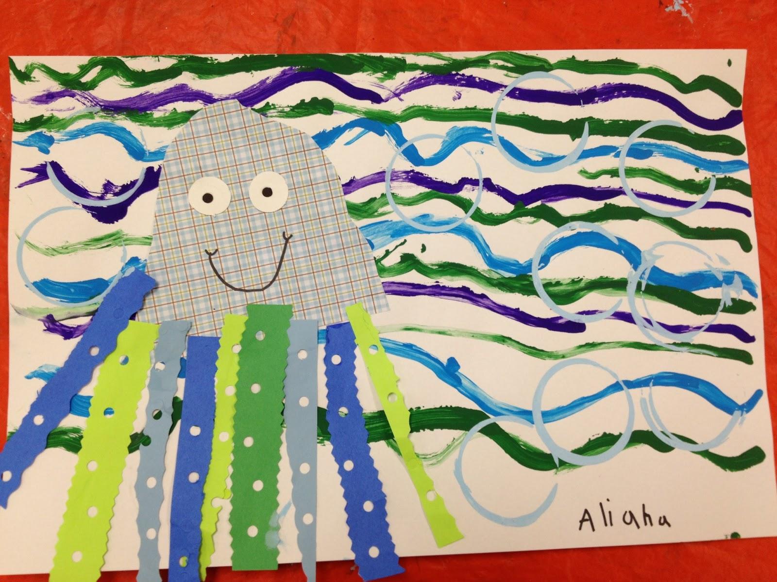 Line Art Lesson For Kindergarten : Color for everyone kindergarten s cool jellies