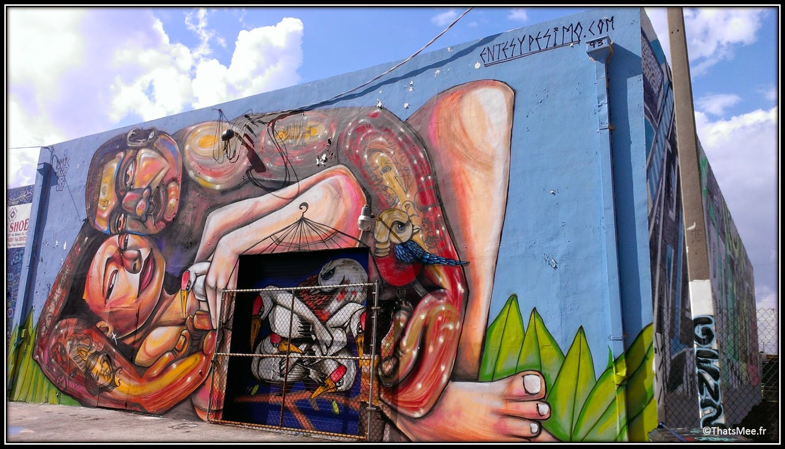 Entes y pésimo street art Wynwood walls Miami, Miami art basel