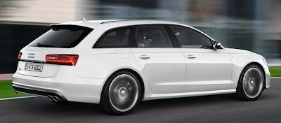2013 Audi A6 Avant White