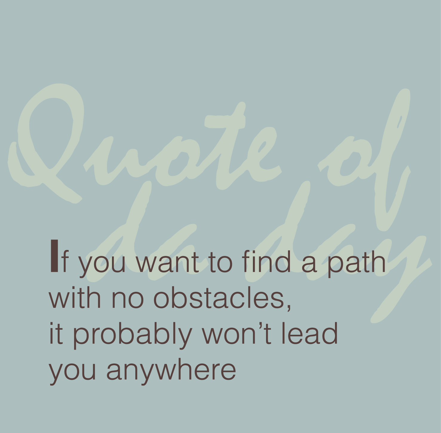 simple anagrams quote of da day 32 life 39 s path
