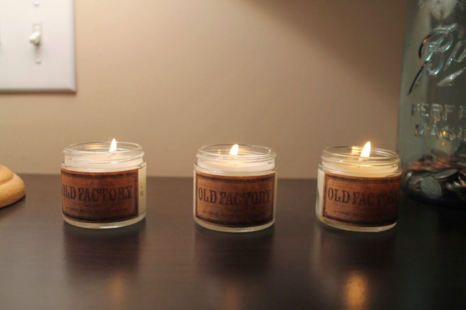 Making Your Home Cozy with Old Factory Candles (+Giveaway!)