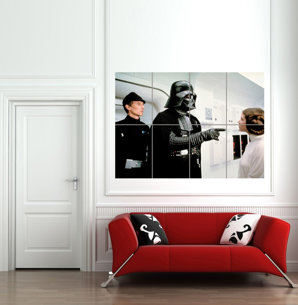 star wars miniatures posters g ants muraux darth vador. Black Bedroom Furniture Sets. Home Design Ideas