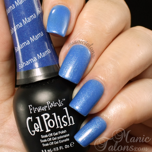 FingerPaints Gel Polish Bahama Mama Swatch