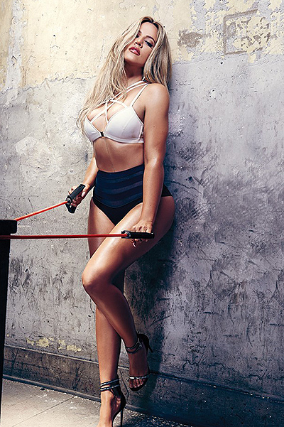 Khloe Kardashian Photoshoot for Complex magazine