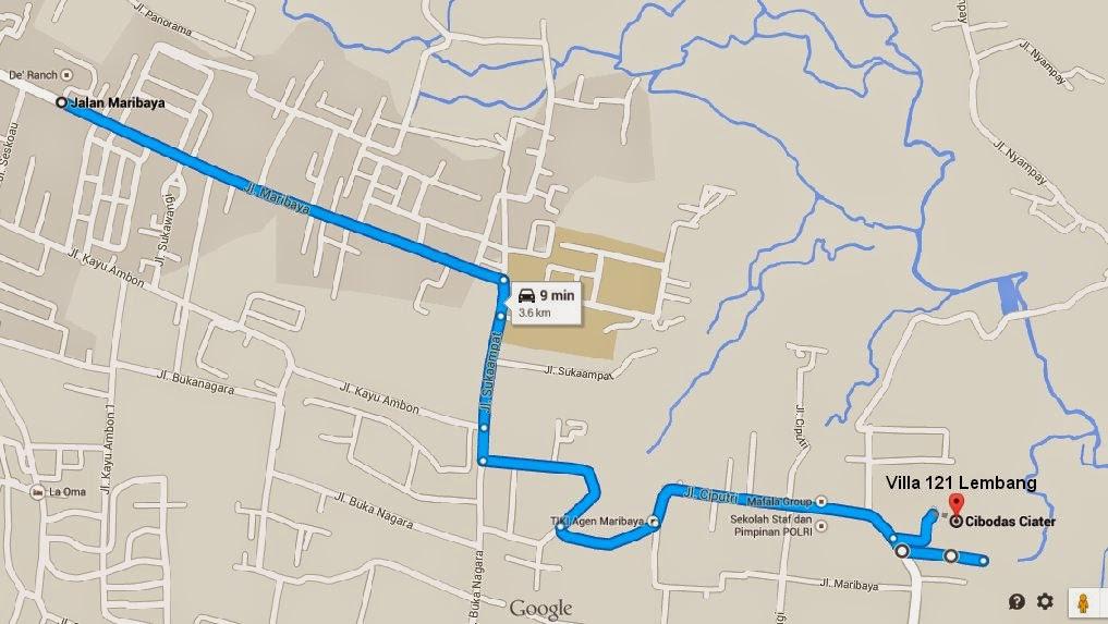 peta+villa+sekitar+de+ranch+ ...