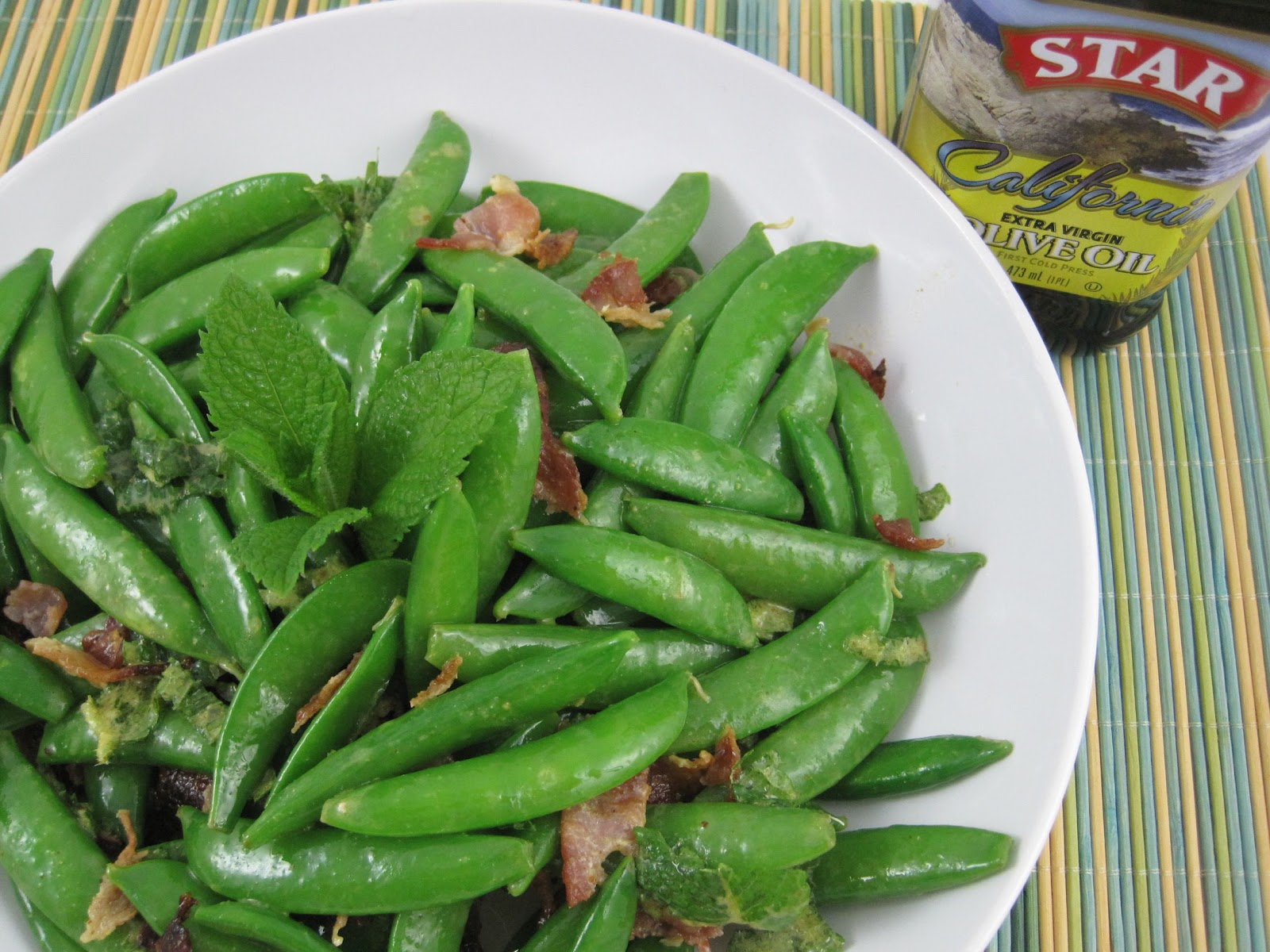 STAR Fine Foods: Sugar Snap Pea Salad with Bacon and Mint