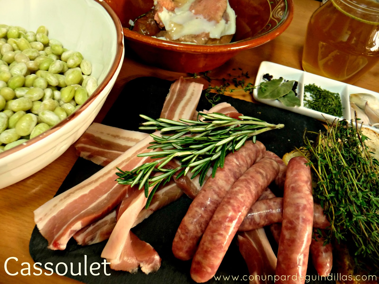Ingredientes Cassoulet