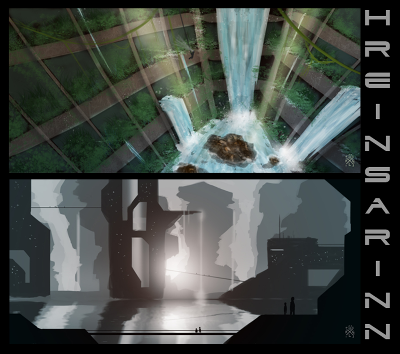 My journey to becoming a better digital painter urban for Urban waterfall design