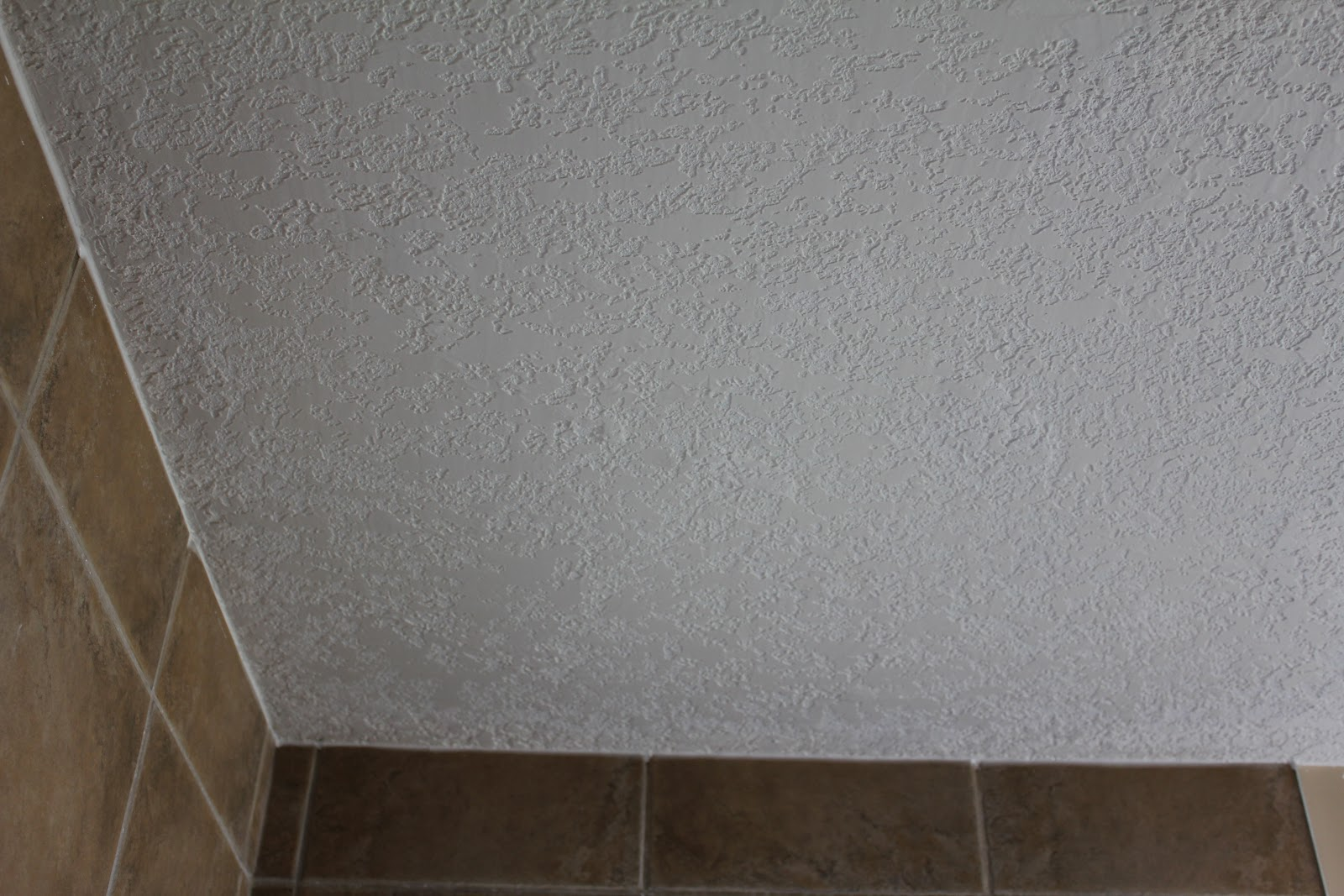 Ceiling Texture Falling Off In Bathroom Over Shower Calgary Ceiling Texture