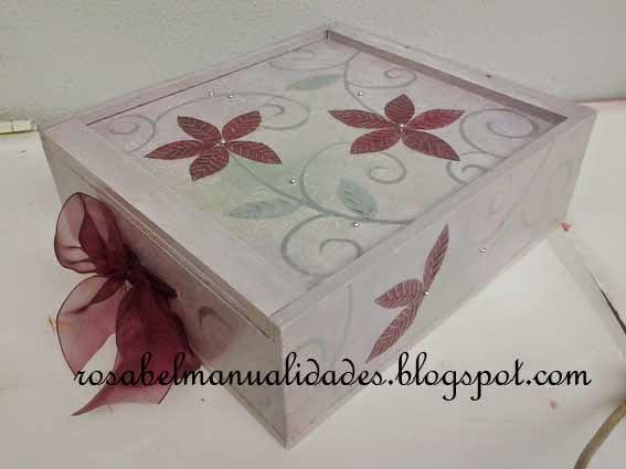 Cajas decoradas - Manualidades decorar cajas de madera ...