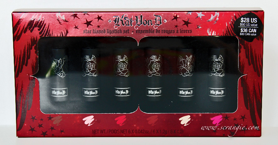 Scrangie: Kat Von D Star Kissed Mini Lipstick Set Holiday 2012 ...