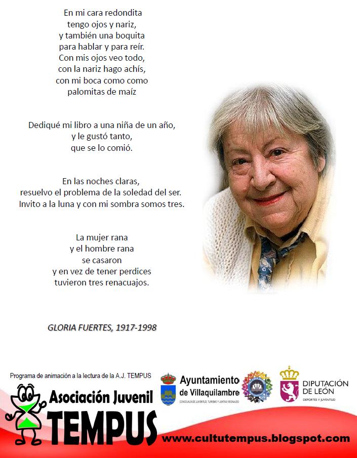 Lee 4 POEMAS DE GLORIA FUERTES