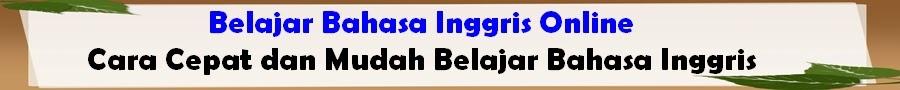 bahasa inggris online blog yang berisi materi belajar bahasa inggris