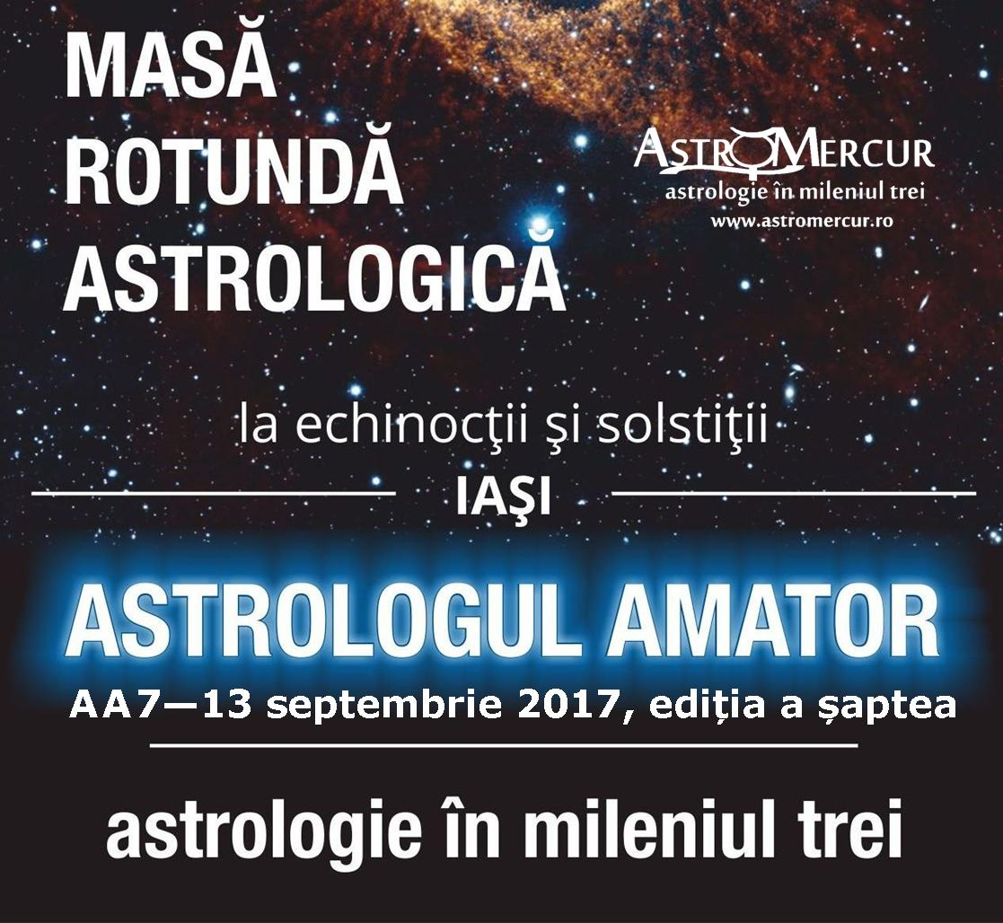Astrologul Amator AA7 - masa rotunda astrologica