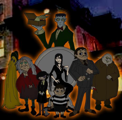 The Addams Family por Inkheart7