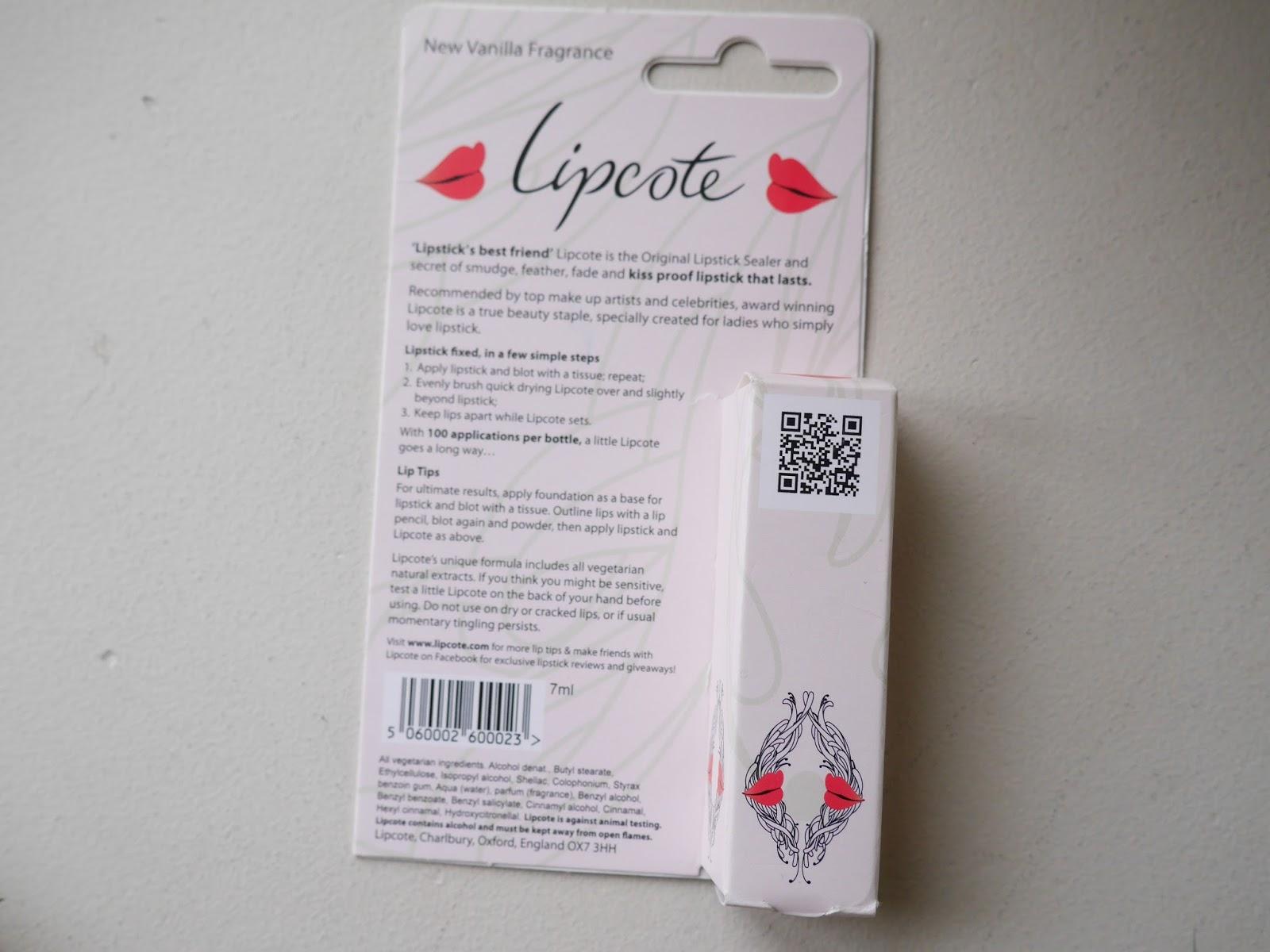 Lipcote review