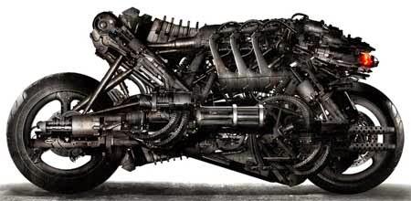 foto gambar motor keren