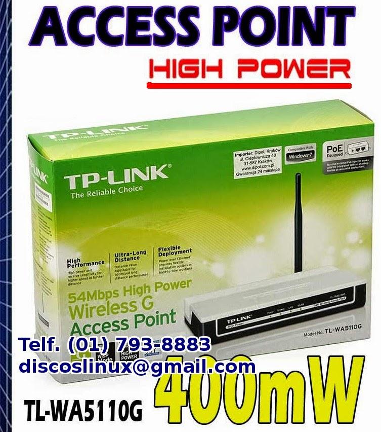 TP-LINK Access Point High Power Internet Wifi para hostales, pensiones, hospedajes, alquiler de cuartos, Amplia cobertura de Wifi en Lima, Lince, Los Olivos, envios Instalaciones configuraciones, Extiende el rango de wifi inalambrico de modem Movistar