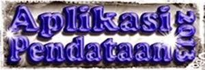 Aplikasi Pendataan 2013